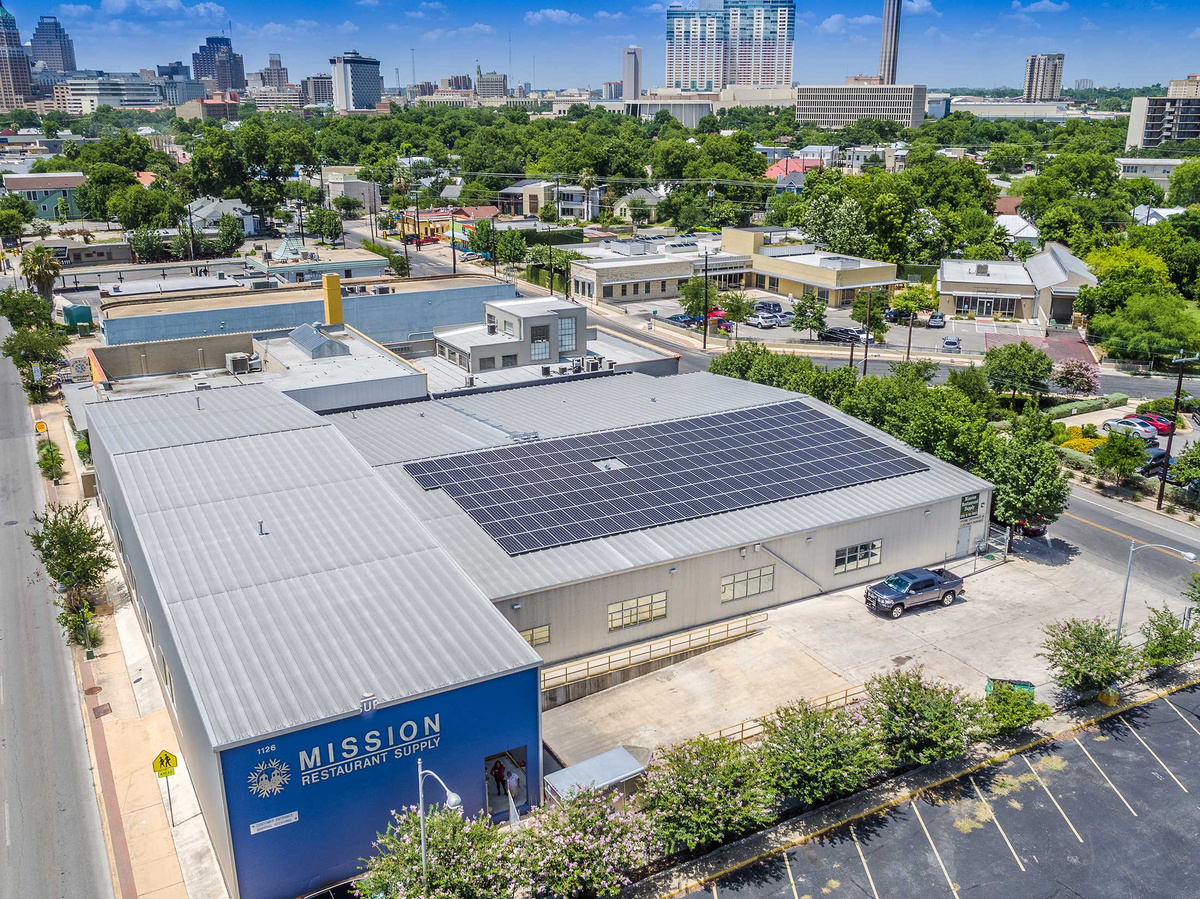 Mission Restaurant Supply Commercial Solar Panel System