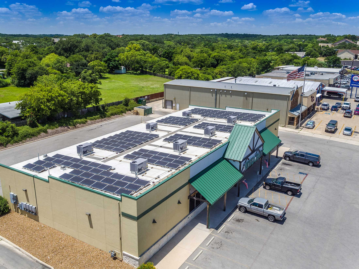 Woodcraft San Antonio - Commercial Solar Power