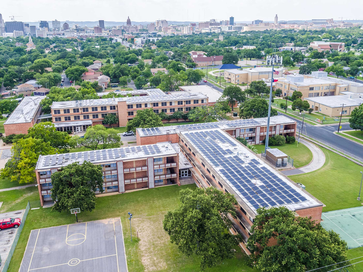 Huston Tillotson University Freedom Solar Llc