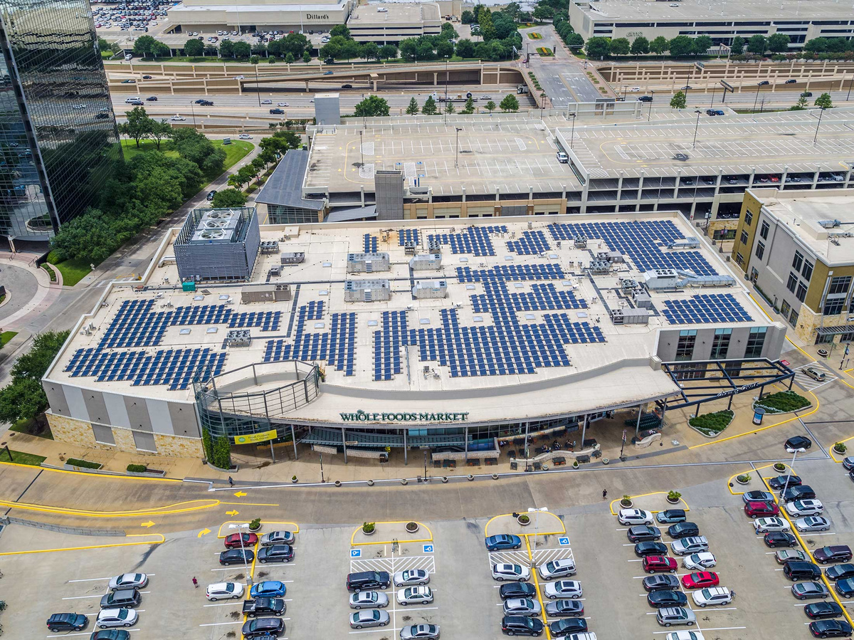 Whole Foods Park Lane - Commercial Solar Power